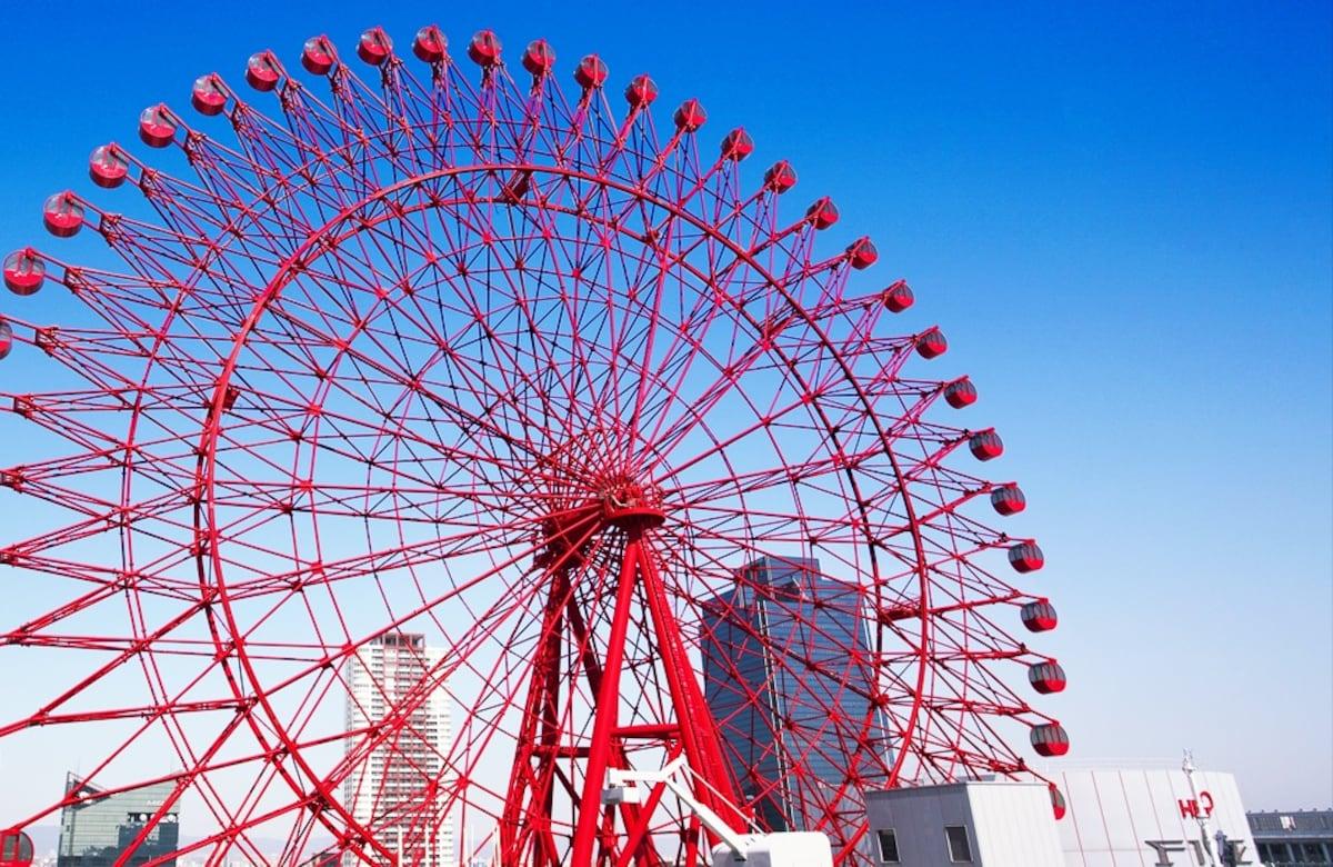 6 ชิงช้าสวรรค์ HEP FIVE Ferris Wheel (Osaka)