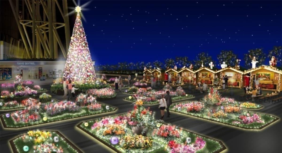 閃亮聖誕不間斷的超強陣容 東京晴空塔Ⓡ TOKYO SKYTREETOWN DREAM CHRISTMAS 2019