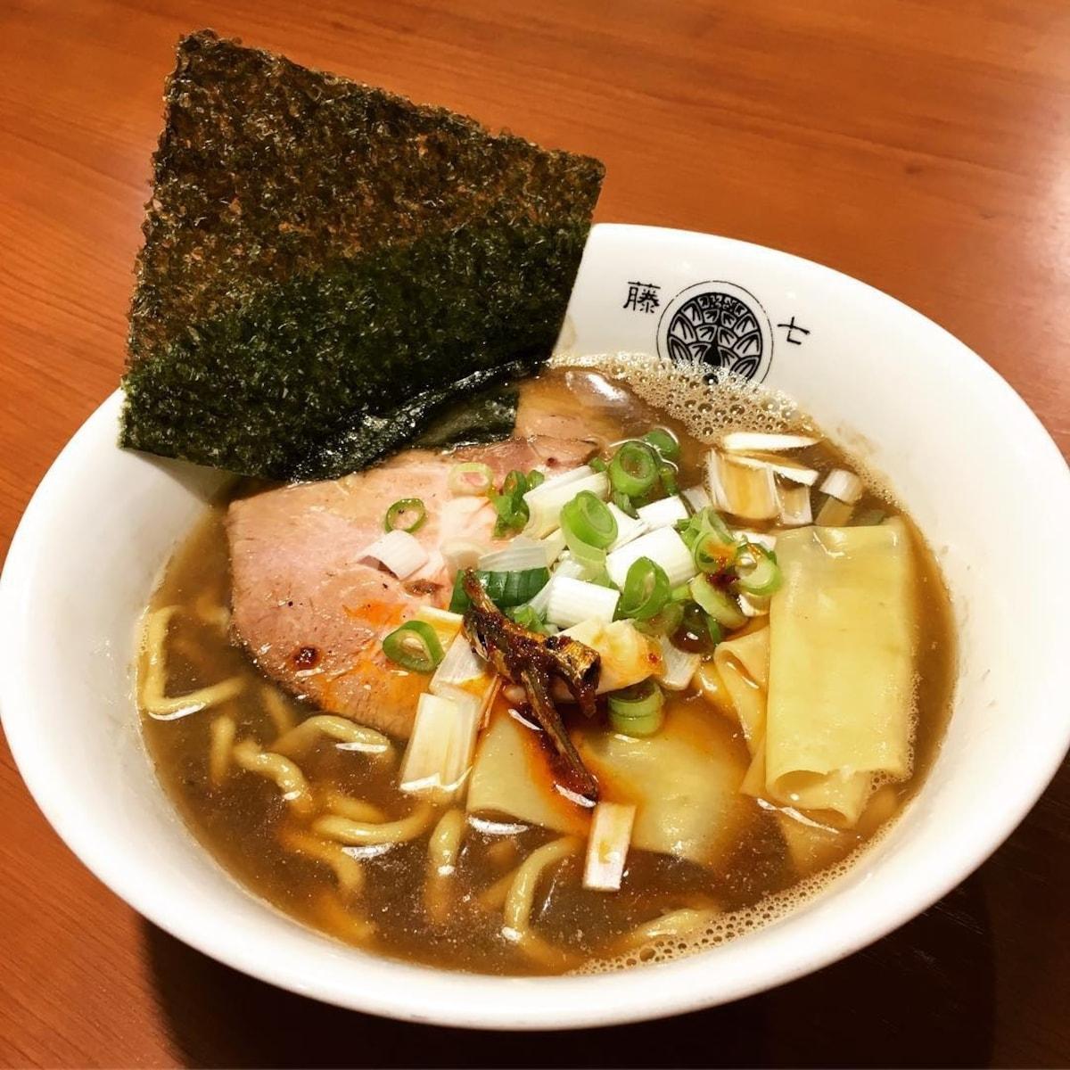 2018米其林指南推薦|らぁ麺 とうひち (藤七)