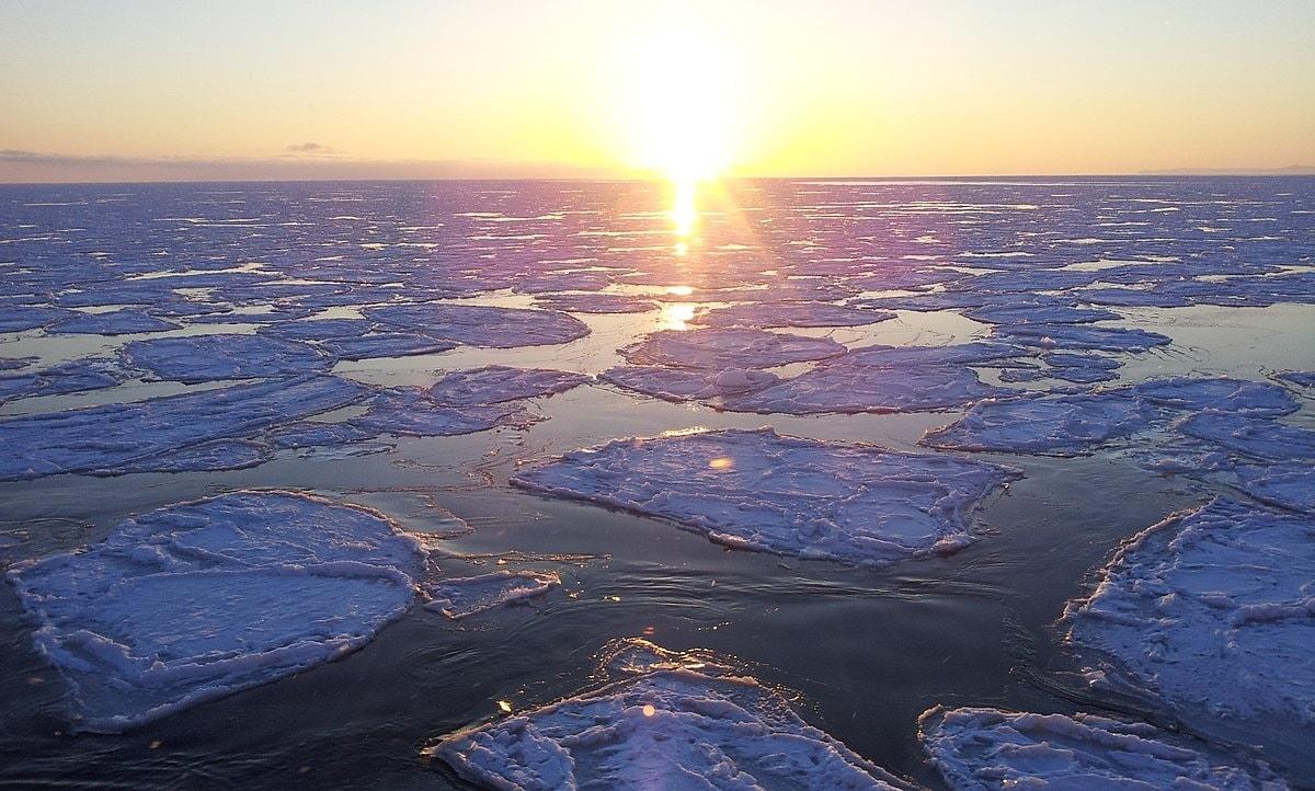 ปรากฎการณ์ธารน้ำแข็งในฮอกไกโด