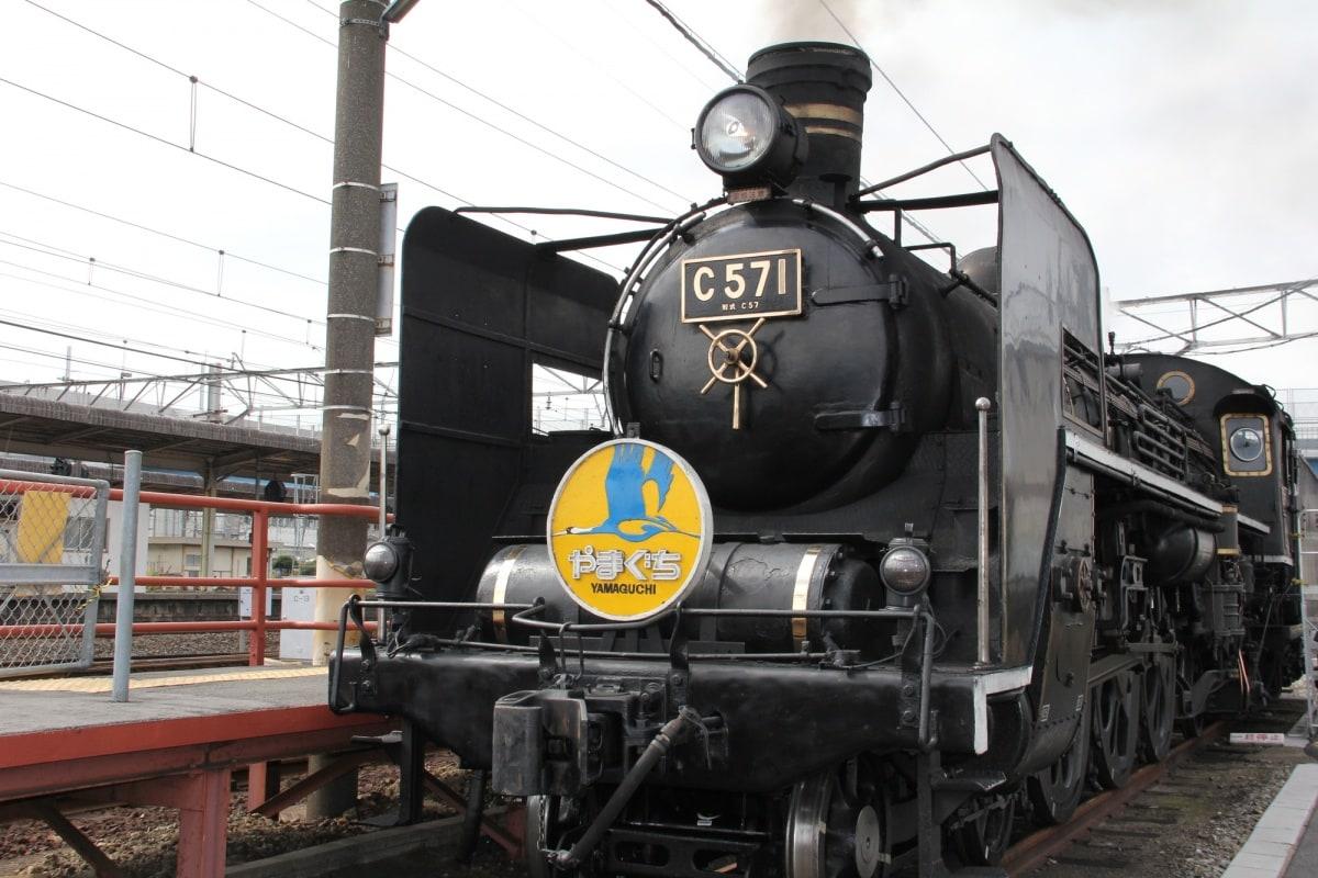 SL山口號蒸汽火車的歷史