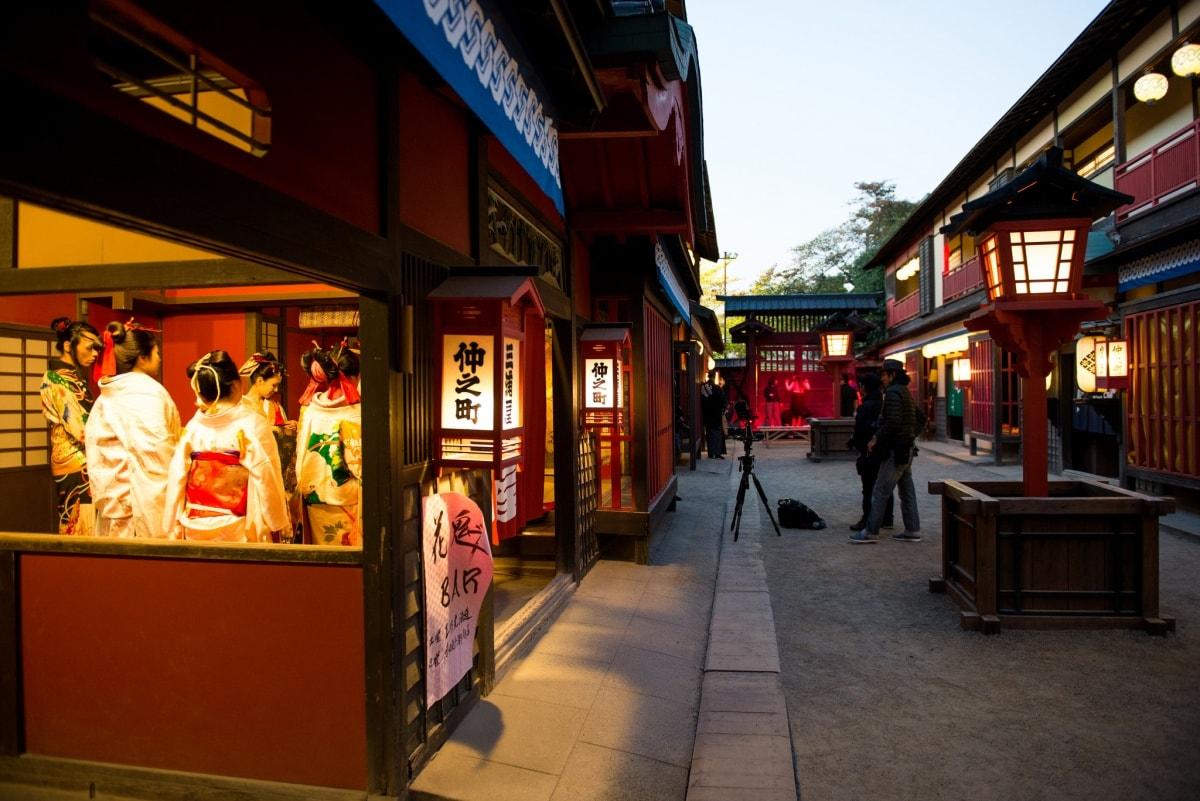 1. โทเอเกียวโตสตูดิโอพาร์ค (Toei Kyoto Studio Park)
