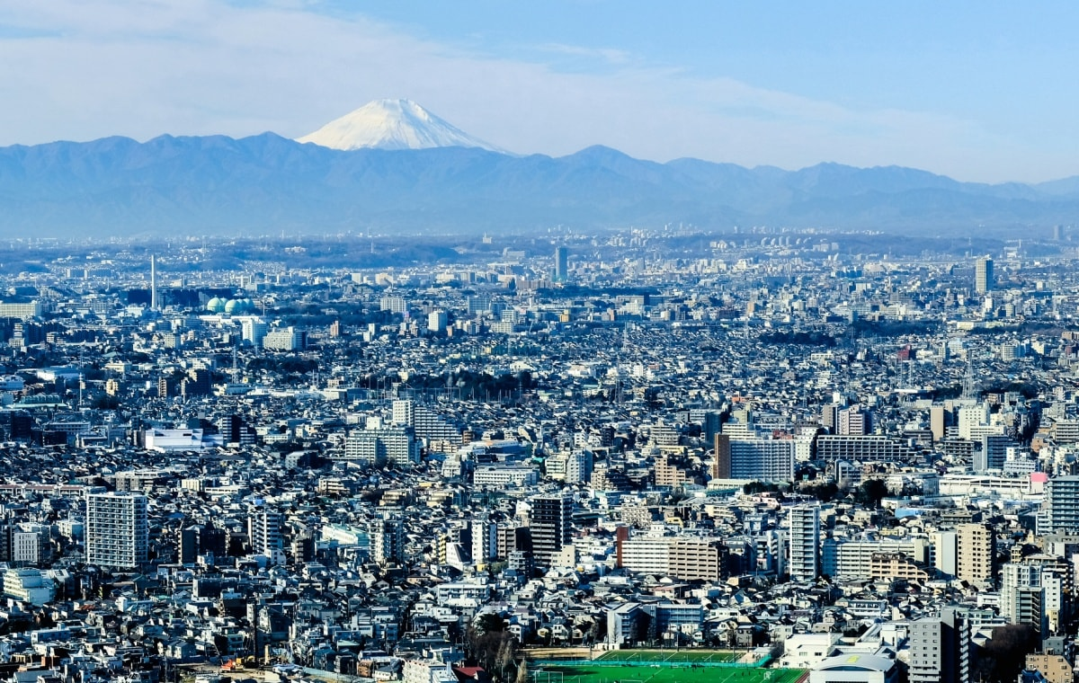 1. หอชมวิวศาลาว่าการกรุงโตเกียว