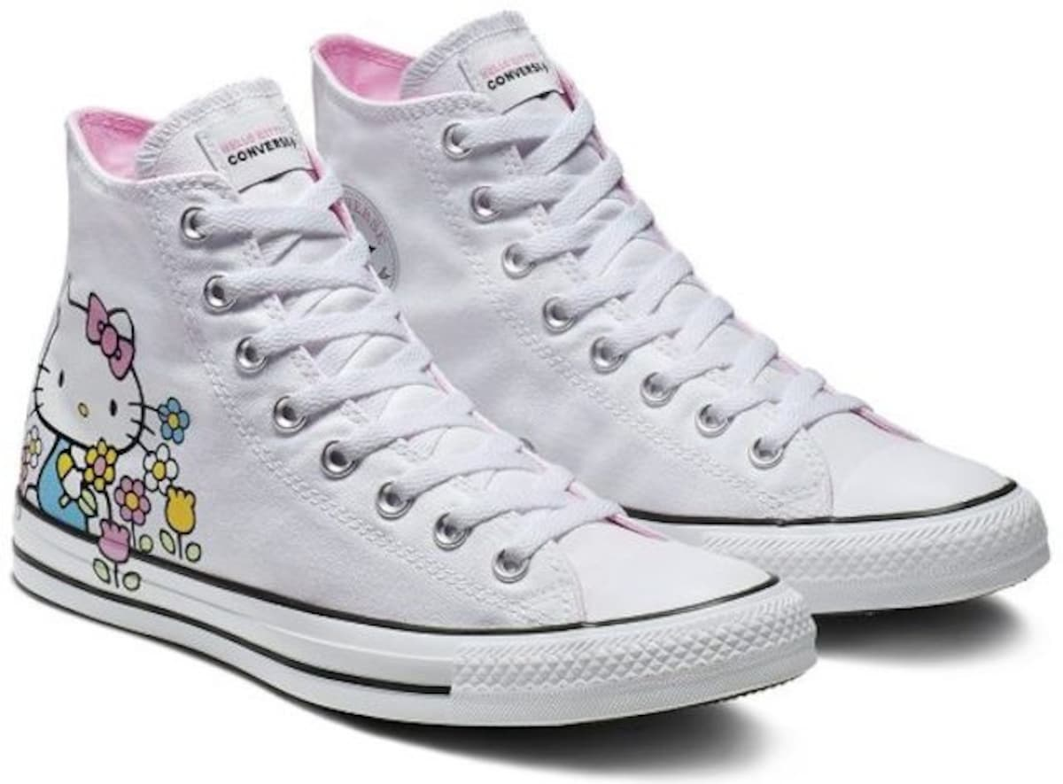 Hello Kitty Coming to Converse Sneakers
