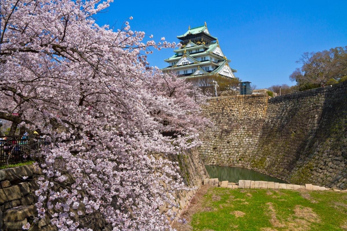 1. ปราสาทโอซาก้า (Osaka Castle)