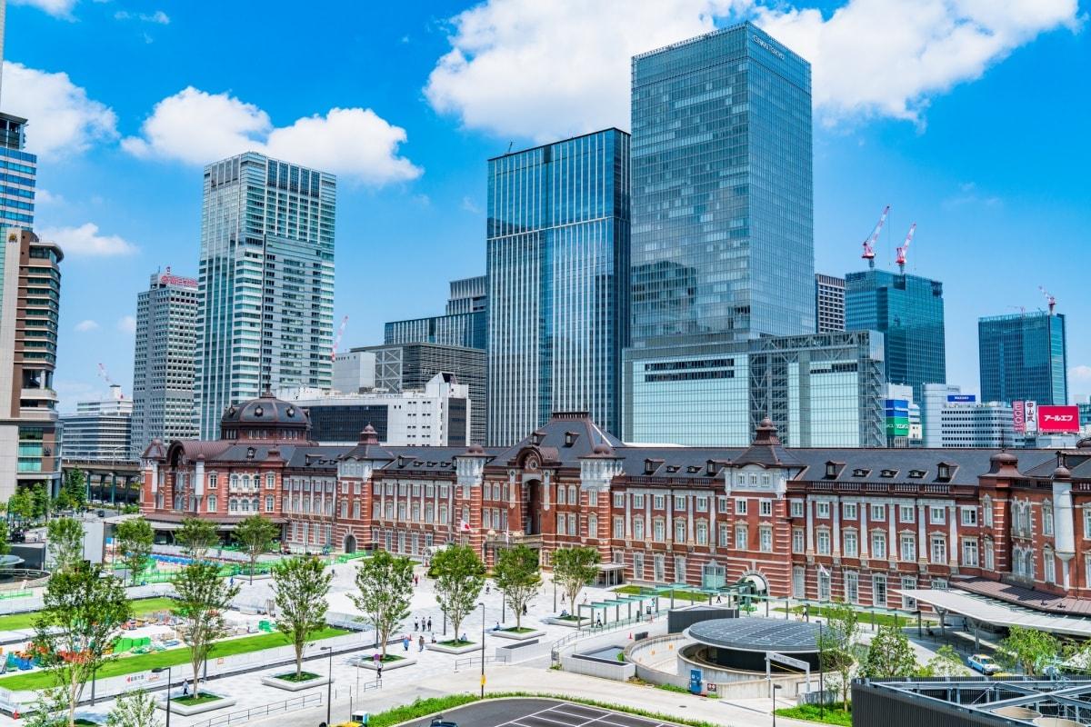 1. สถานีโตเกียว (Tokyo Station)