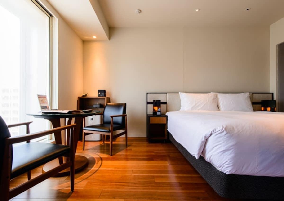 【新宿】麻雀雖小五臟俱全的平價旅店|新宿格蘭貝爾飯店(新宿グランベルホテル;Shinjuku Granbell Hotel)