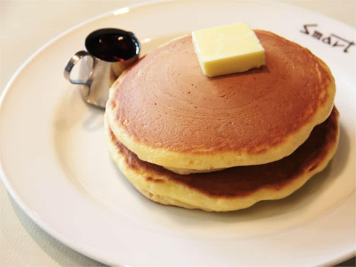 現煎的樸質好味道!「Smart Coffee」的外酥內扎實的原味鬆餅