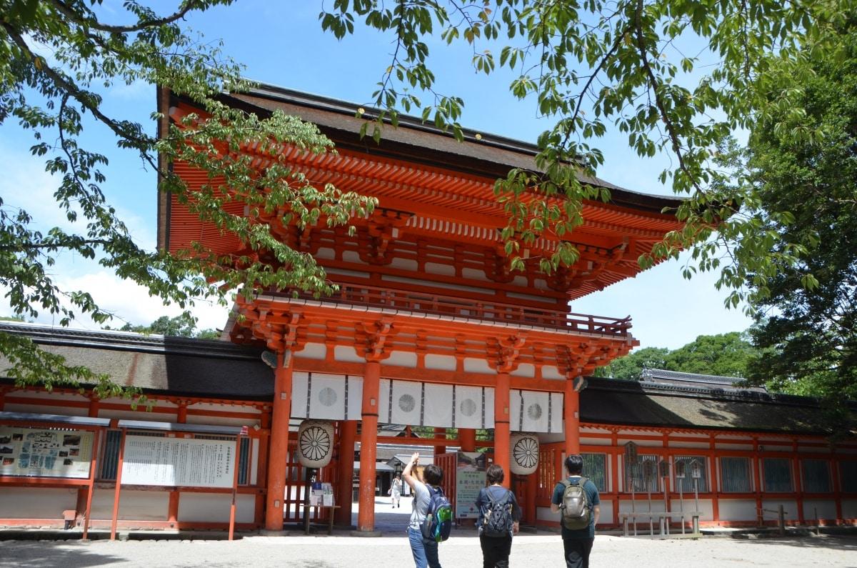 下鴨神社的神奇水籤 (水みくじ)