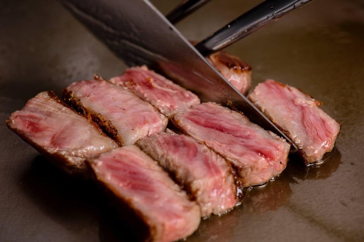 【銀座】入口即化!A5黑毛和牛霜降牛排|銀座のステーキ (Steak) 銀座本店