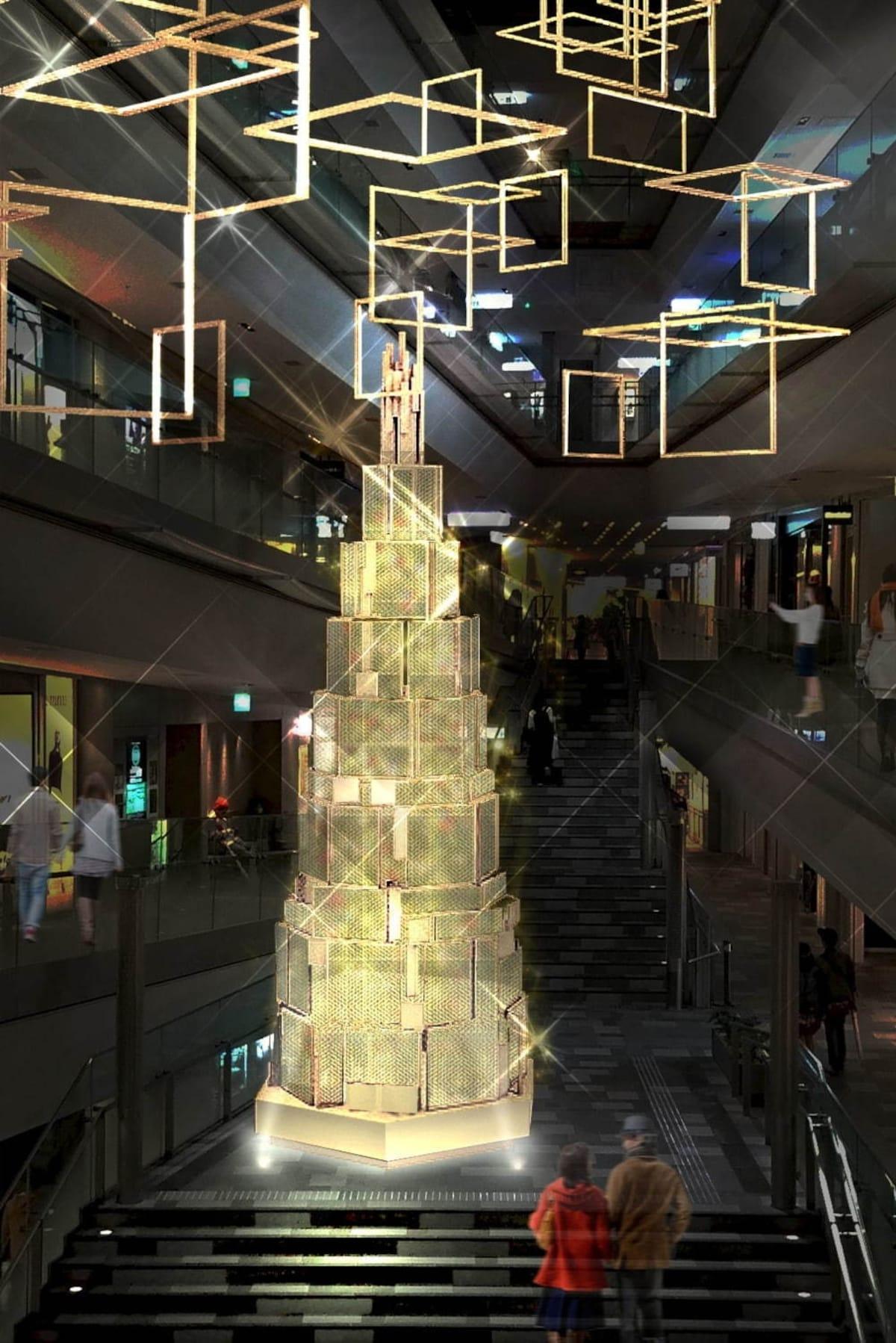 表参道的聖誕雪國世界 OMOTESANDO HILLS CHRISTMAS 2019
