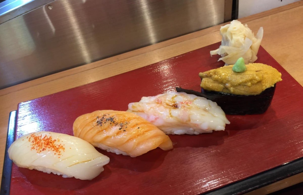 新潟市 寿司 女子会