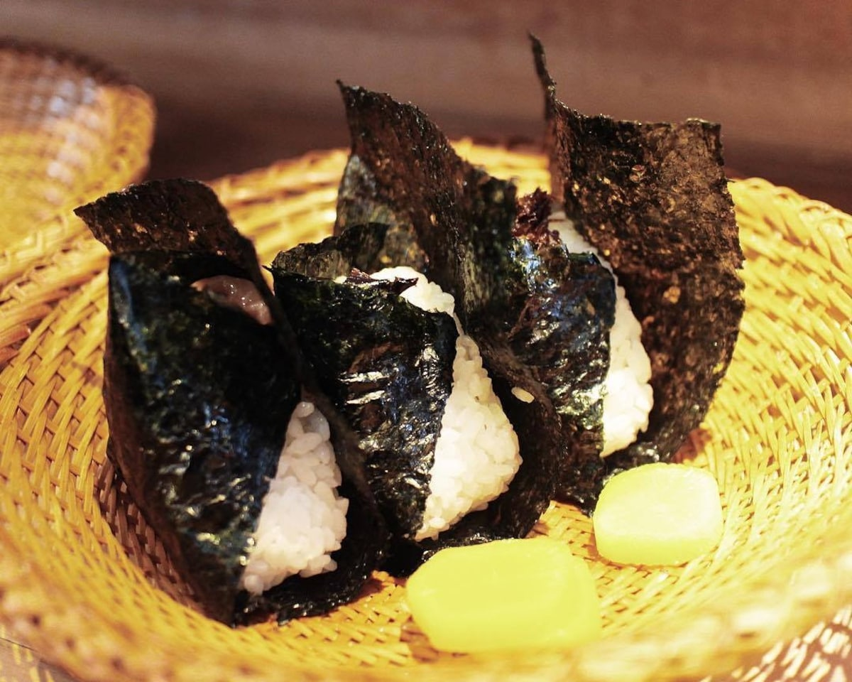 東京最古老的飯糰本舖「おにぎり淺草宿六」