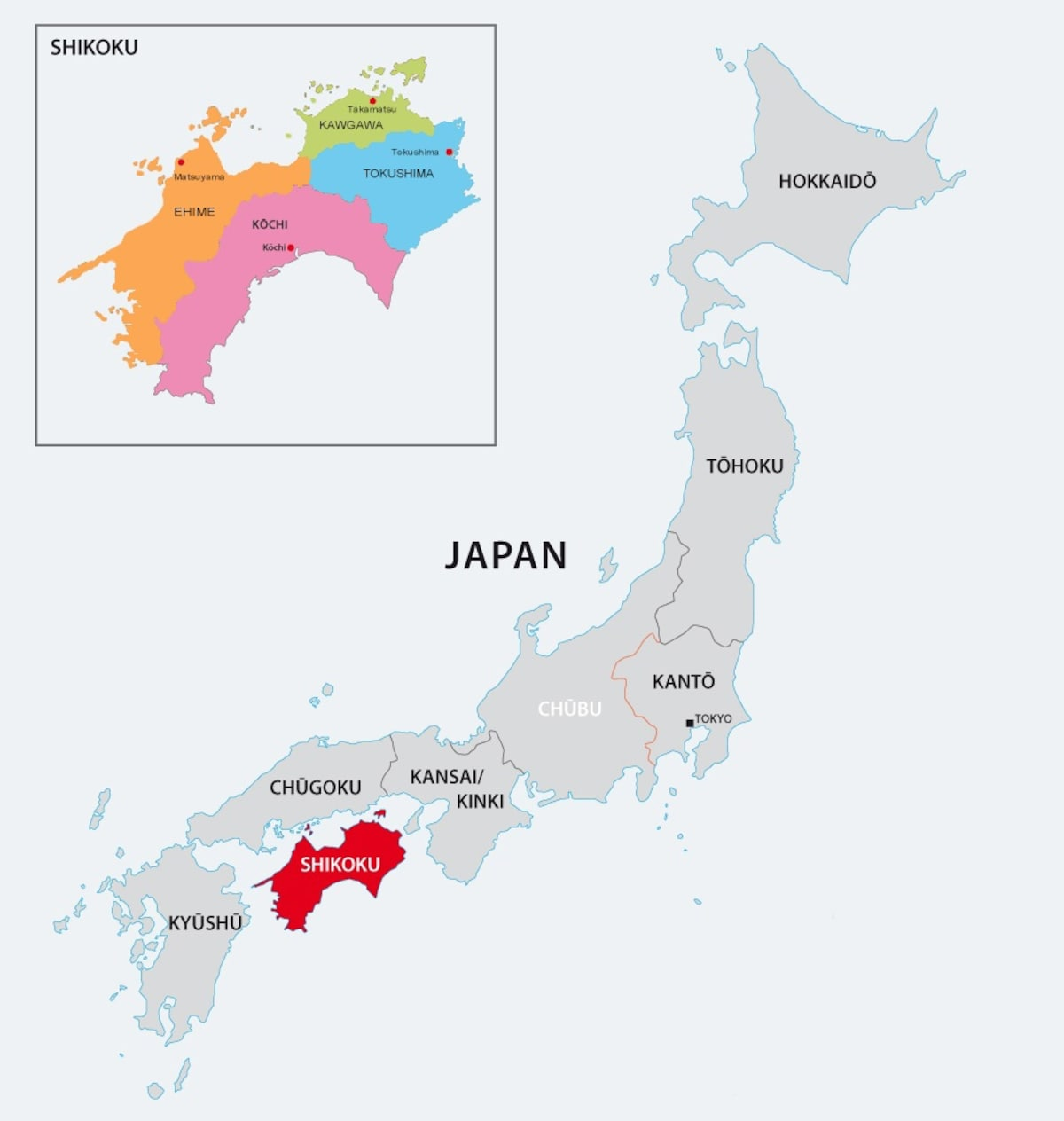 Where Is Shikoku?
