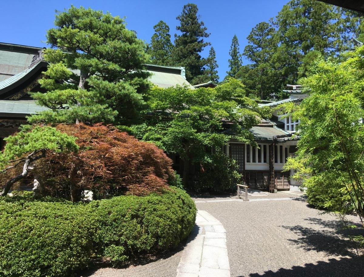 10. Fukuchiin, Mount Koya
