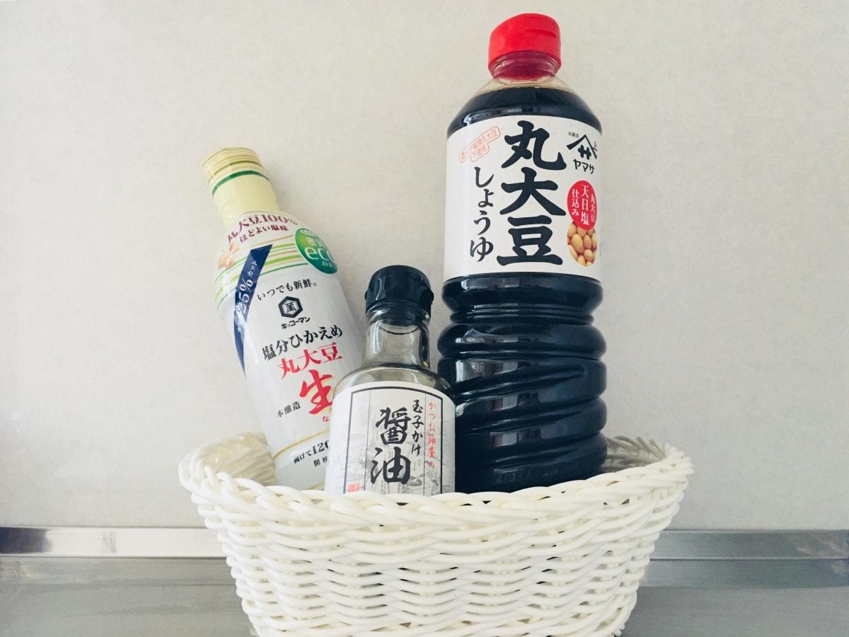 1. โชยุ (しょうゆ/醤油)
