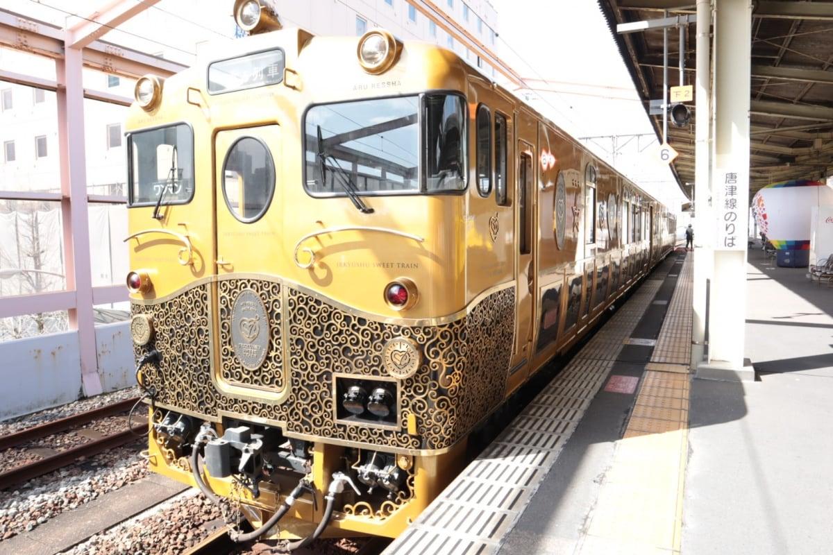 極致奢華的甜點觀光列車「或る列車(ARU列車)」