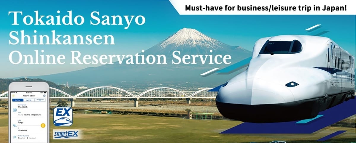 Travel with Ease Using the Tokaido Sanyo Shinkansen Online Reservation Service