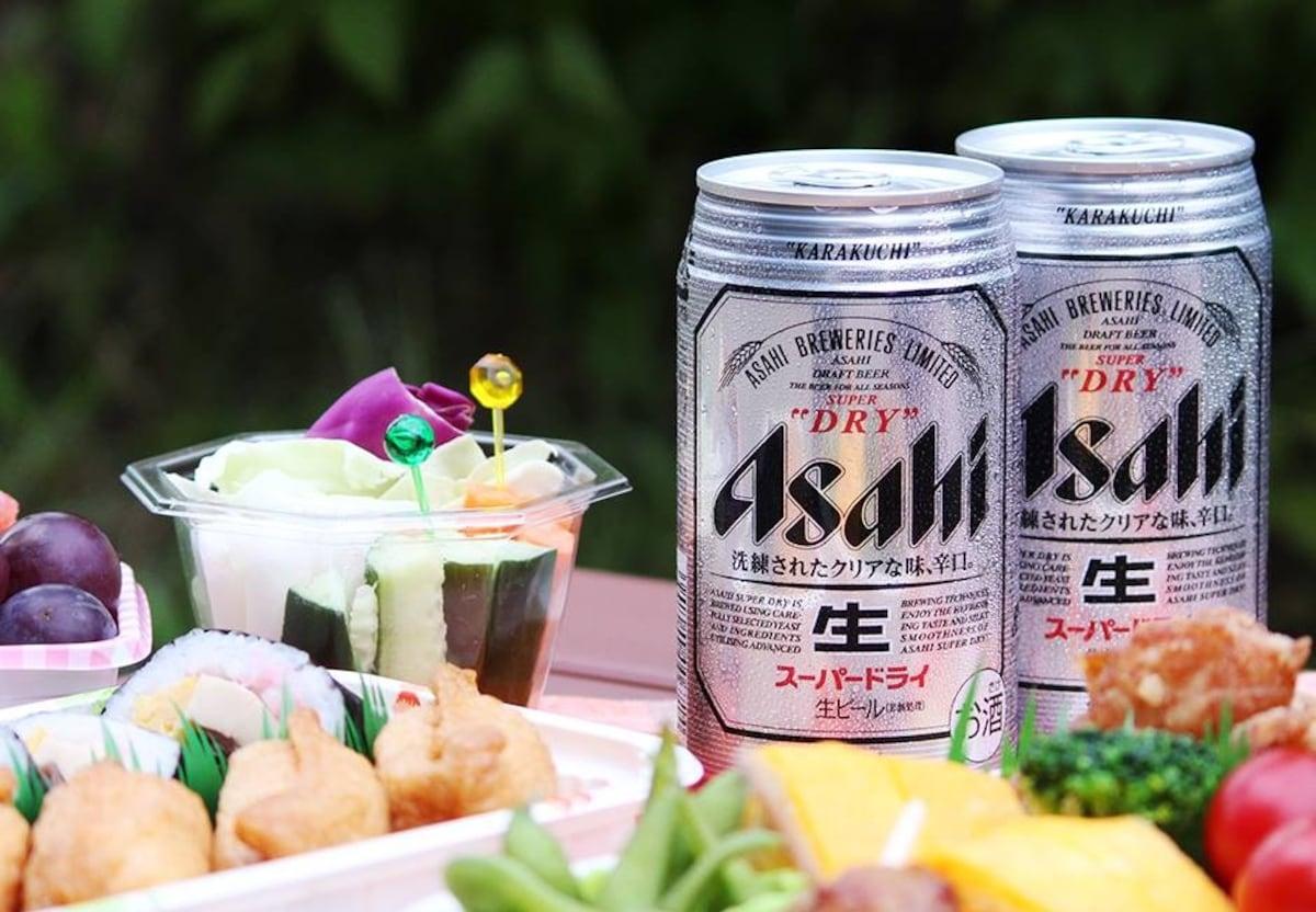 1. 經典的洗練大人款「Asahi SUPER DRY」