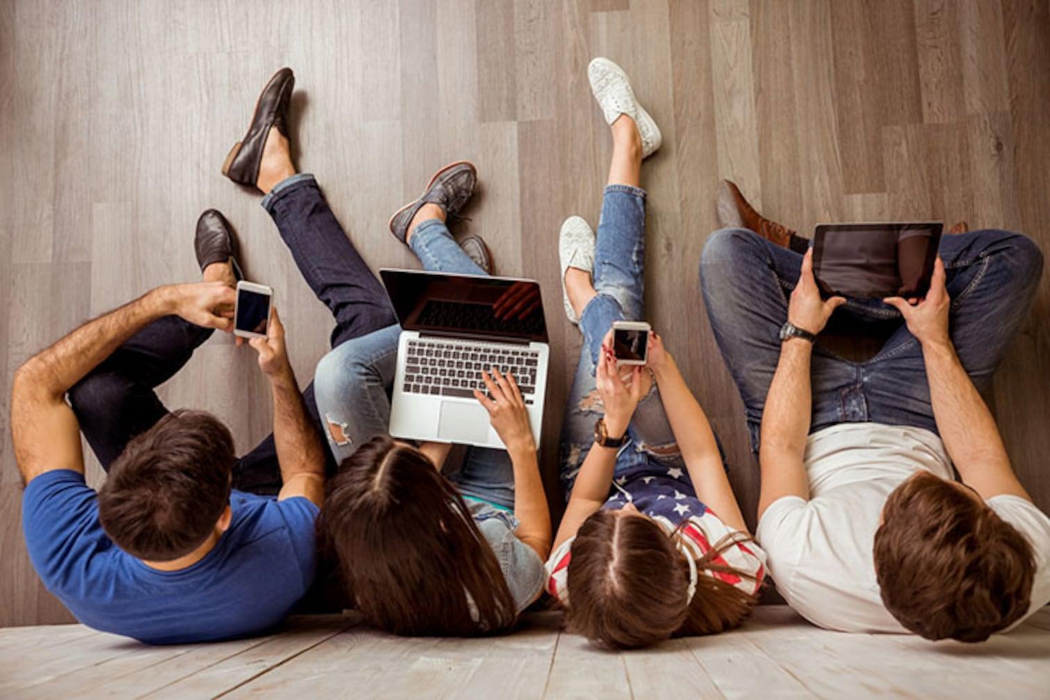 ネットでコンテンツの消費はするが、発信はほとんどしない日本の子どもたち