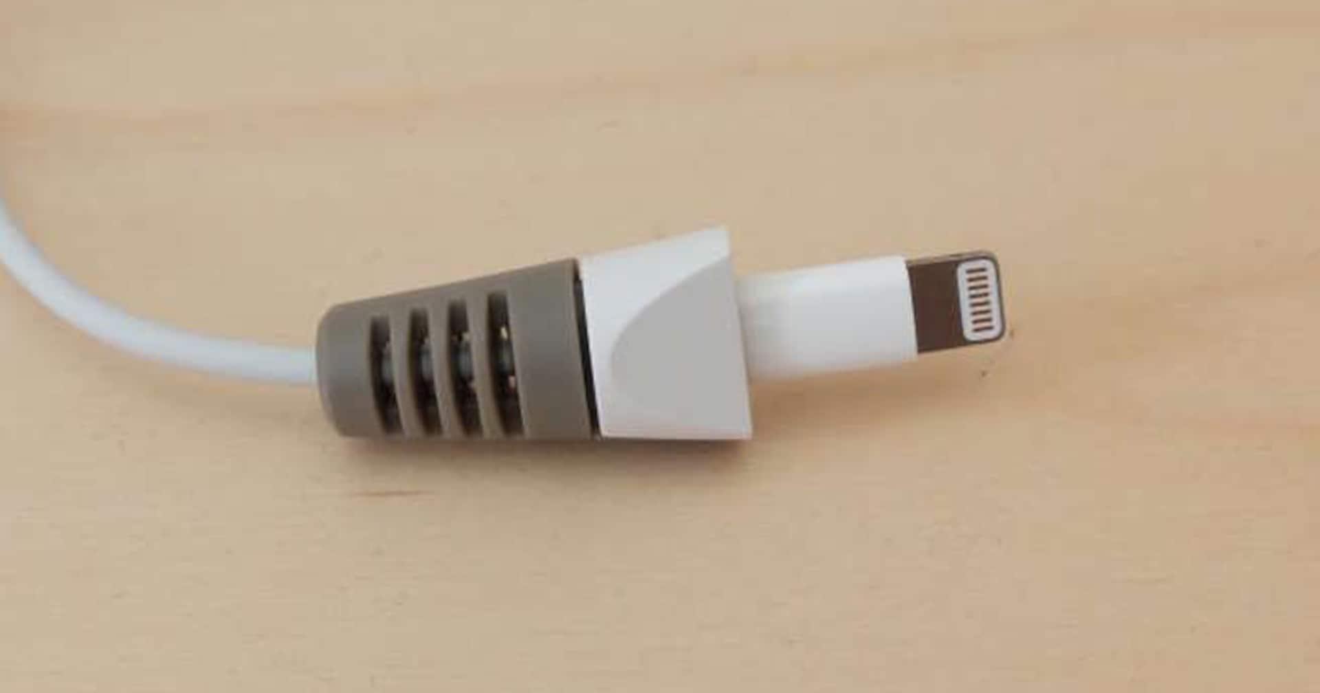 破損しやすいiPhoneケーブルを簡単に守る方法