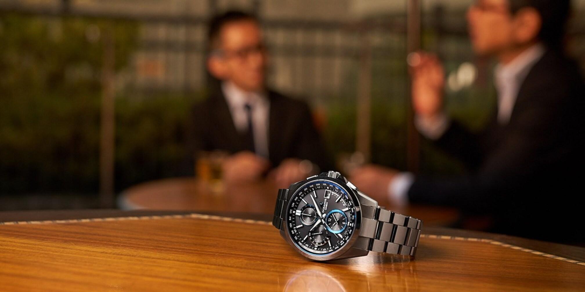 """なぜカシオ「OCEANUS」は売れているのか? """"10万円台最強時計"""" の真価に迫る"""