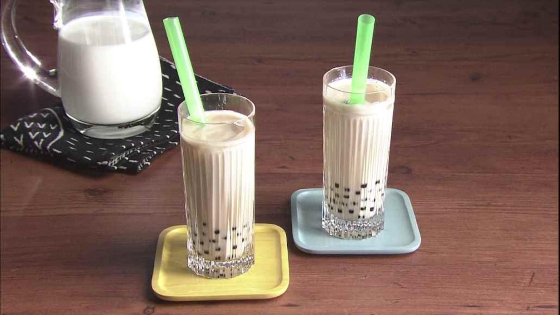 【3分クッキング】  話題のタピオカ! 行列に並ばず自宅で作れる「黒糖タピオカミルク」