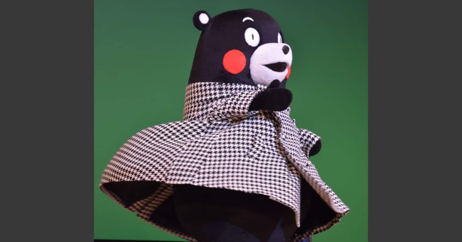 知事から名刺を1万枚配ってくるよう指示された「くまモン」。ついに大阪で失踪する…