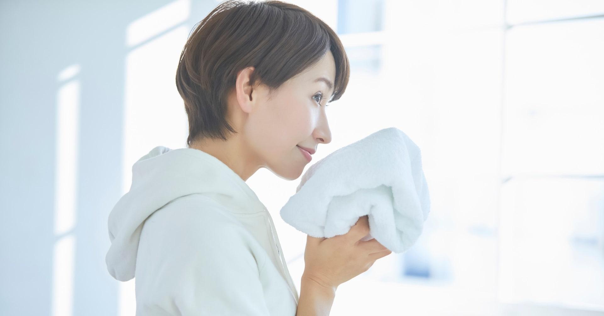 【ライフハック】たった1分半で!?タオルの生乾き臭を解決する意外な方法が話題に