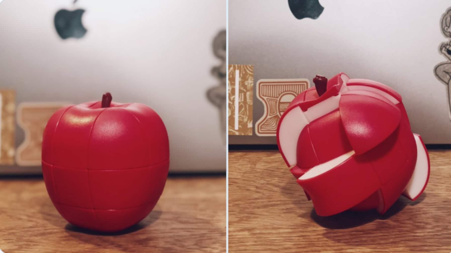リンゴに見えるコレ実は…青森で買った予想外のお土産に「買いたい」「難易度高そう」と話題に
