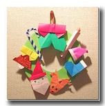 子供でも簡単!折り紙で作るクリスマスグッズ