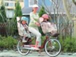 自転車に乗って、気持ちよく有酸素運動