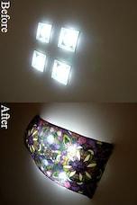 工夫するだけでお金をかけずにカンタンに間接照明を作る方法