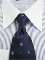 襟タイプとネクタイの結び方の関係