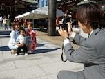 子供一人の写真と家族全員の集合写真の撮り方のコツ