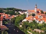 """""""眠れる森の美女""""と評された街の「チェスキー・クルムロフ城」(チェコ)"""