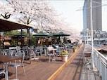 飯田橋のお濠沿いにある「CANAL CAFÉ」