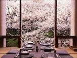桜の花を間近に見ることができるザ・プリンス さくらタワー東京の「高輪 七軒茶屋」