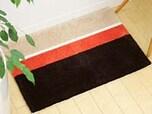 1.玄関マットをアクセントに敷く