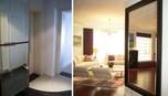 鏡と照明が部屋を広くする?