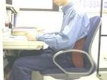 座る姿勢を楽に保つ方法