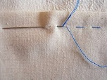 手縫いの基本となる「なみ縫い」