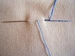 丈夫な仕上がりにしたいときなどに便利な「返し縫い」