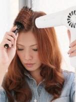前髪ブロー・セットの基本 斜め前髪編