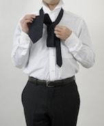 ネクタイの結び方その2 ウィンザーノット