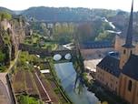 国名の由来となった小さい城「ボック城跡」(ルクセンブルク)