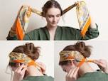 ストール・スカーフが小物に変身する8技