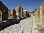 古代ローマの町並みがそこに。イタリアのポンペイ
