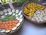 野菜の甘さが際立つ【干し野菜】