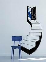 grasti<Climbing the stairs>